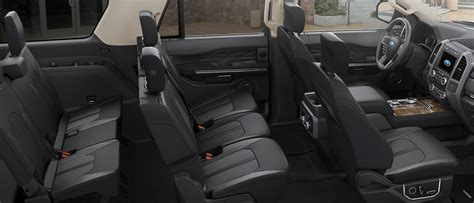 ford expedition suv  row seating