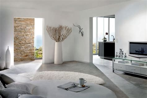White Curtains Ideas by Pure White Minimalist Living Room 20 Modern Design Ideas