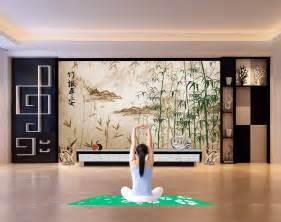Papier Peint Chinois Ancien by Papier Peint Asiatique Zen Personnalis 233 Paysage Avec Les