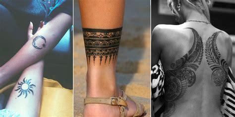 le tatouage tribal en  modeles qui donnent envie dun
