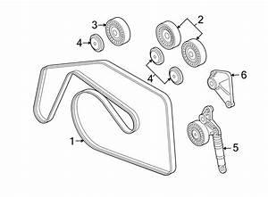 Volkswagen Touareg Ribbedbelt  Serpentine Belt  3 0 Liter