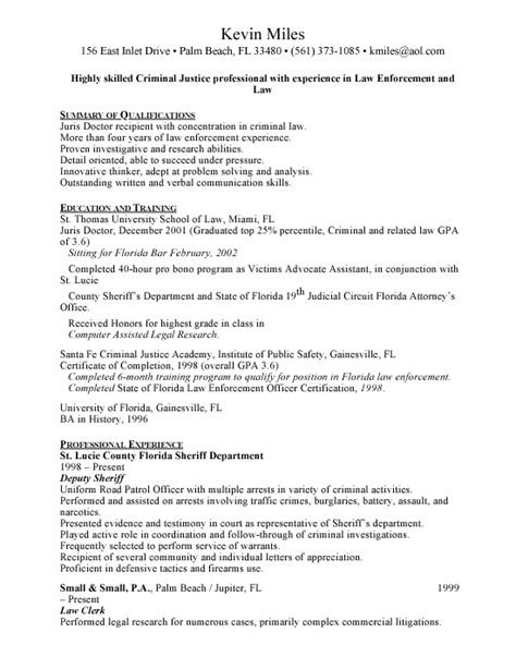 Deputy Sheriff Resume by Enforcement Cover Letters Search Results Calendar 2015
