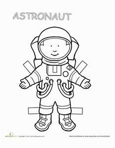 Career Paper Dolls: Astronaut | Worksheet | Education.com