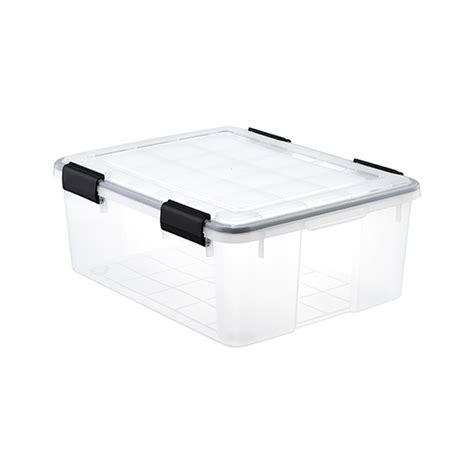 weathertight storage tote clear weathertight totes the container 3371