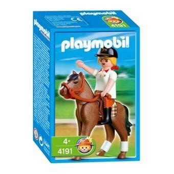 playmobil 4191 ecuy 232 re playmobil achat prix fnac