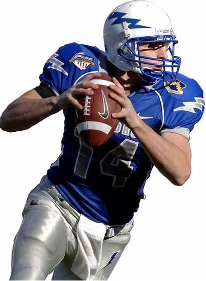 Quarterback Clker Football Clip American Clipart Vector
