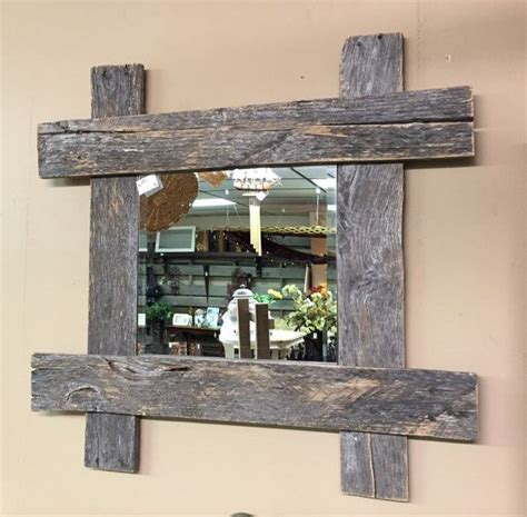 Rustic Pallet Furniture Wood Wall Mirror Rustic By