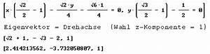 Eigenvektor Berechnen 2x2 : tangenten von parabeln ~ Themetempest.com Abrechnung