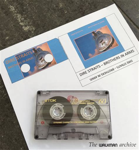 Word Template For Custom Cassette Stickers & Jcards