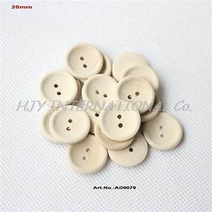 (200pcs/lot) Round Wooden Sewing Buttons Personalized ...