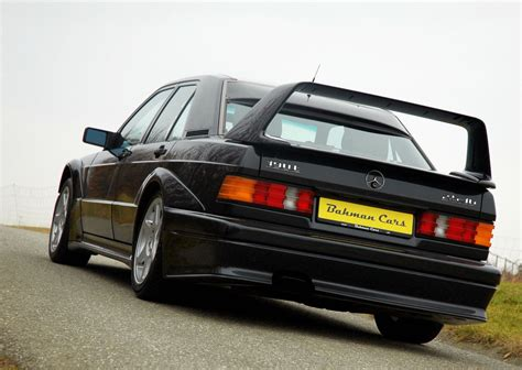 The most radical departure from the standard 190 was its body kit which included an outrageous rear wing, probably the largest ever fitted to a mercedes. 1990 Mercedes-Benz W201 190E 2.5-16 Evolution II | BENZTUNING