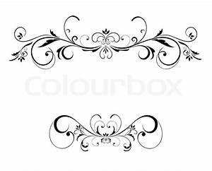 Wedding floral frame   Stock Vector   Colourbox
