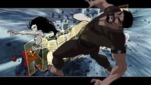Image - White Tiger kicks Kraven.png | Ultimate Spider-Man ...