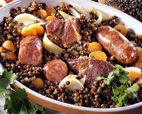 cuisiner jarret de porc jarret de porc aux lentilles au thermomix