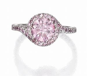 Platinum and pink diamond ring pink diamonds pinterest for Pink diamond wedding rings