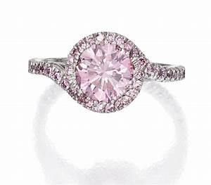 Platinum and pink diamond ring pink diamonds pinterest for Pink diamond wedding rings