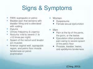 Pelvic Floor Dysfunction Constipation by Interstitial Cystitis
