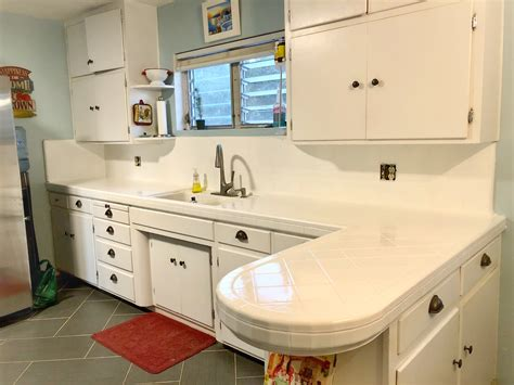 and the kitchen sink kitchen tile countertop refresh door blue house 4064