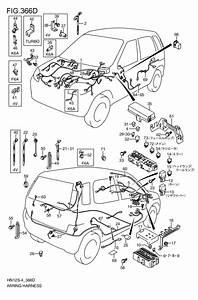 Wire Ring Harness For 2001  Swift Hn22s