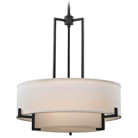 white drum pendant light modern drum pendant light with white glass in bronze