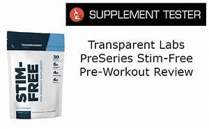 Preseries Stim-free Pre-workout Review