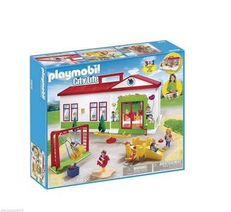 outdoor slide set playmobil city nursery 5606 sealed