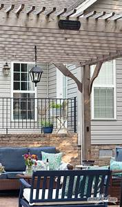 Solar Pergola Lights Outdoor Solar Chandelier For Your Pergola Easy Diy