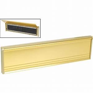 flushback letter plate gold toolstation With letter plate