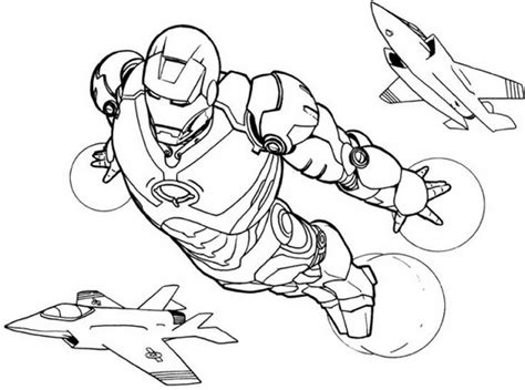 Iron Man Coloring Pages Mask Page Color Grig3org