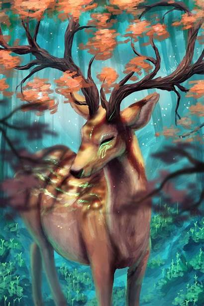 Horns Branches Deer 4s Parallax Iphone
