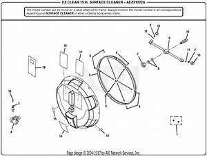 Homelite Aez31022a 15 U0026quot  Cleaner Attachment Parts Diagram