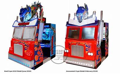 Transformers Arcade Rising Shadows Sega Cabinet Expo