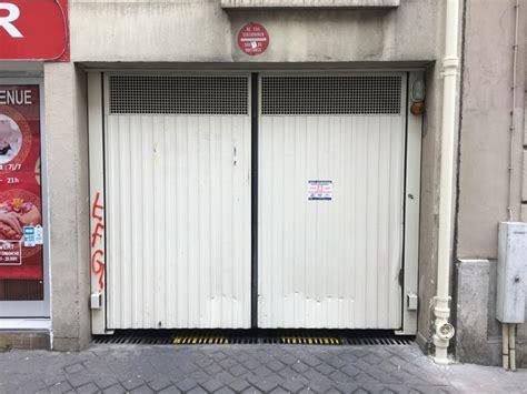 place de parking a vendre place de parking 224 vendre 75010 28 rue jacques louvel tessier