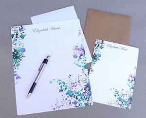 Stationery set letter writing set personalized stationary for Personalized letter writing stationery