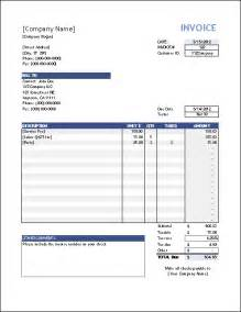 Invoice Templates Excel Vertex42 Invoice Assistant Invoice Manager For Excel