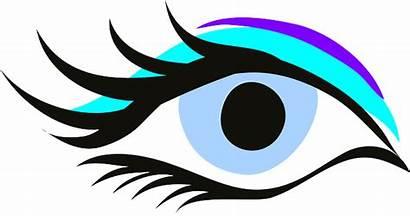 Eye Beauty Makeup Mascara Vector Desenho Graphic