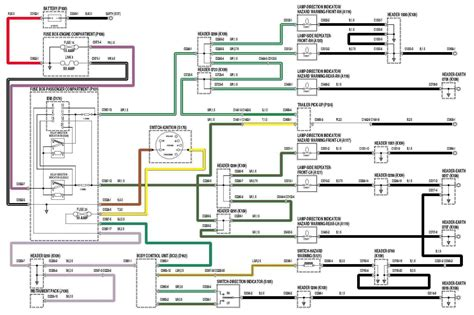 Light Wiring Diagram For 2002 Discovery by 1999 Land Rover Discovery Ii Directionals And Hazard