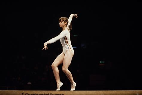 Comaneci Floor Routine by Comaneci Announced As Official Spokesperson Of The 2017