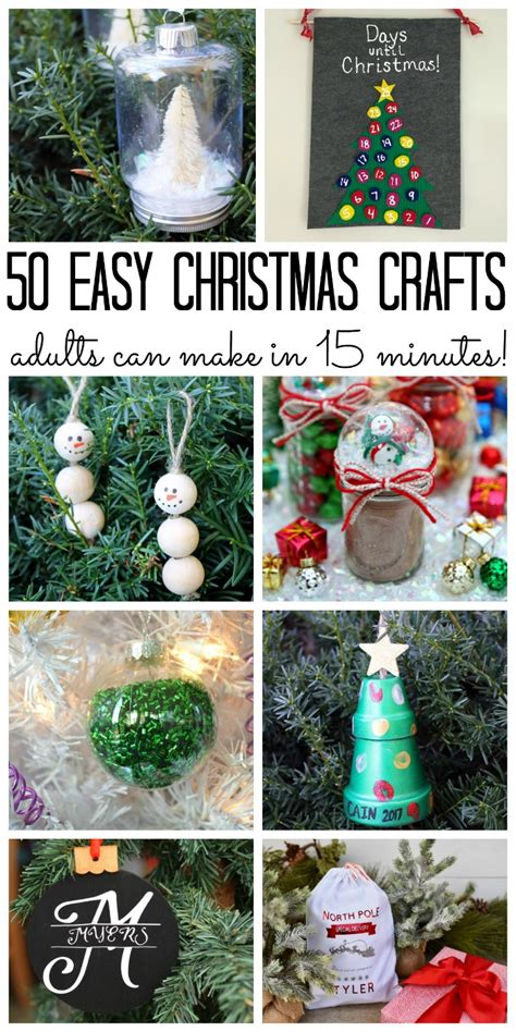 christmas crafts  adults  country chic cottage