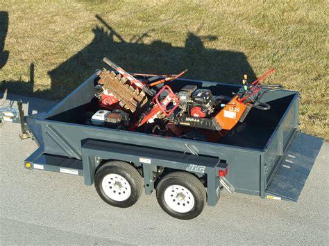 jlg drop deck utility trailer ut912 utility trailer jlg