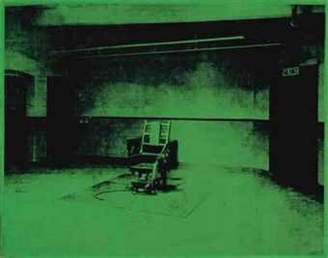 andy warhol 1928 1987 electric chair 1960s paintings christie s