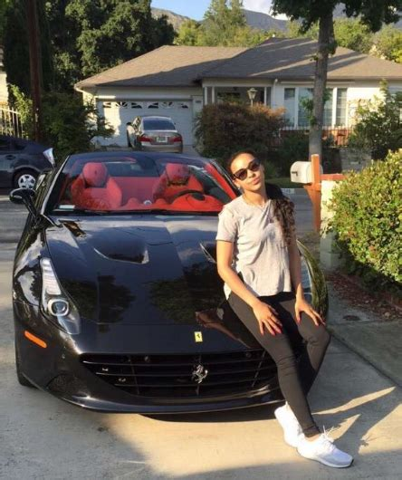tinashe picks   ferrari california celebrity cars blog