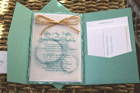 invitation card beach themed wedding invitation invite