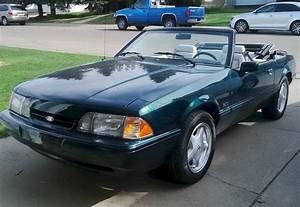 Emerald Green 1990 Ford Mustang 25th Anniversary 7-UP Convertible - MustangAttitude.com Photo Detail
