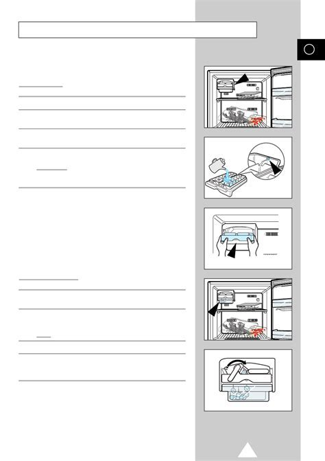 Page 11 of Samsung Refrigerator SR 43NXB User Guide