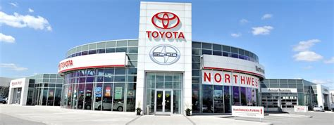 Toyota Dealership by Brton Toyota Dealership Northwest Toyota Dealer Ontario