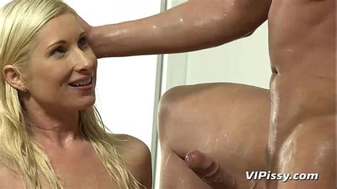 Couple Drinks Pee And Has A Messy Fuck