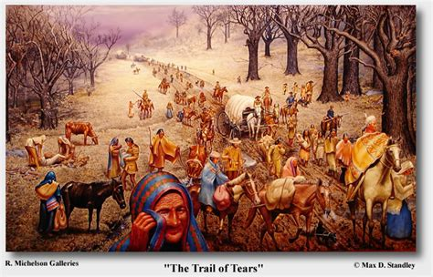 the trail of tears united nation of indians aniyvwiya