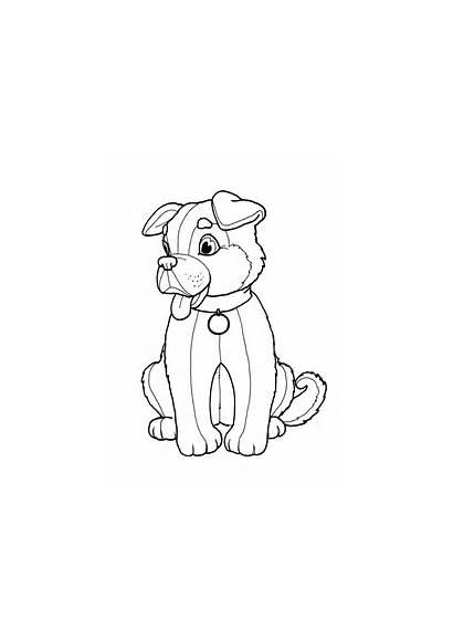 Ausmalbilder Hund Colorear Dibujos Coloriage Imprimir Perros