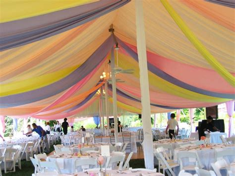 8 Ways to Decorate Your Wedding Tent Ceiling Ocean